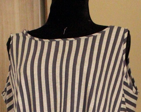 Armhole & neckline bias Binding tutorial