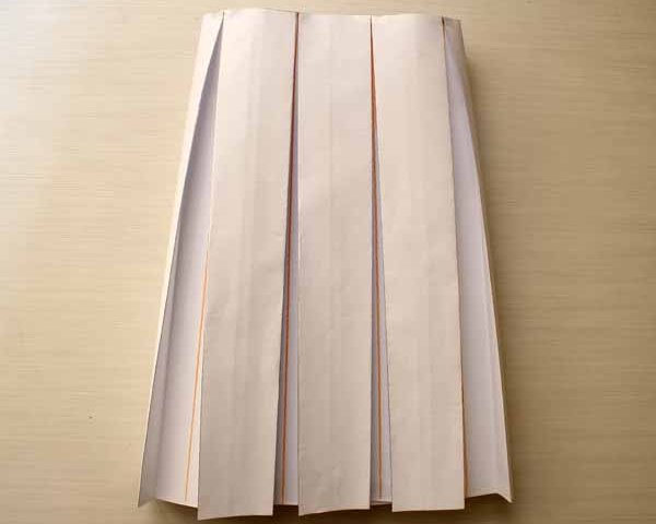 All-around Pleated skirt pattern design